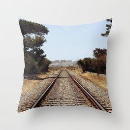 Tracks......... Throw Pillow