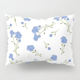 Forget me not II Pillow Sham