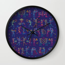 Indian Wedding Celebration Wall Clock