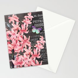 Vintage Flowers #1 Stationery Cards