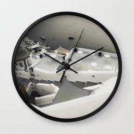 dreaming Fira Wall Clock