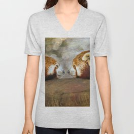 Nose to Nose Unisex V-Neck