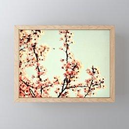 SUBTLE BLOSSOM Framed Mini Art Print