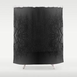 Tree Inversion Shower Curtain