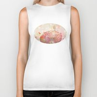 forever young Biker Tanks featuring Forever Young by Lisa Argyropoulos