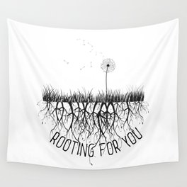 Rooting for U Wall Tapestry