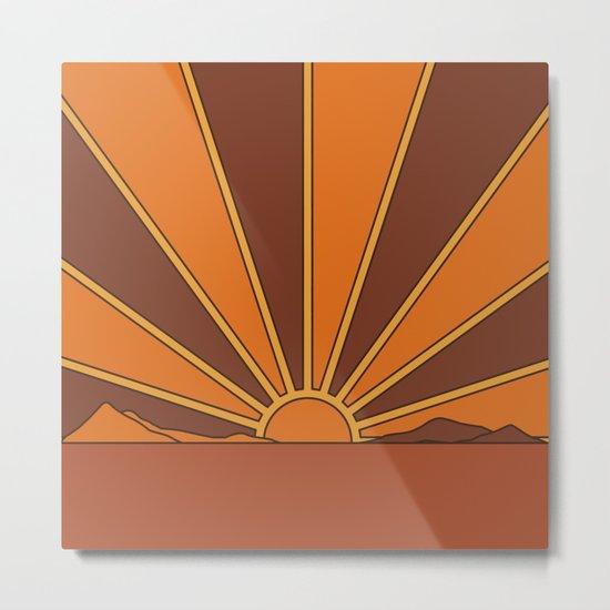 Sun Dreamer Metal Print