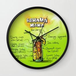Bahama_Mama_002_by_JAMFoto Wall Clock