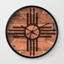 New Mexico State Flag Brand Wall Clock
