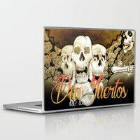 dia de los muertos Laptop & iPad Skins featuring Dia de los muertos by mrgarnica