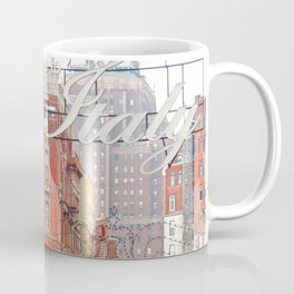 Welcome to Little Italy, NYC Coffee Mug