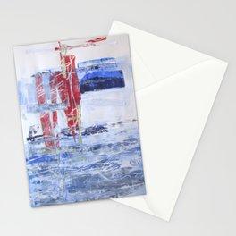 Empreinte: les bateaux arrivent! Stationery Cards