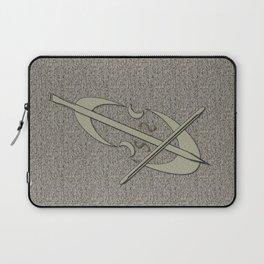 Silver Grey Cello Laptop Sleeve