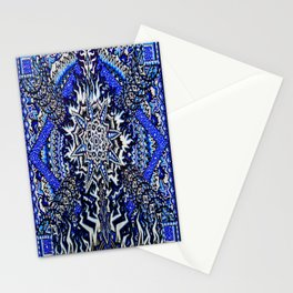 Galactic Rivers Stationery Cards