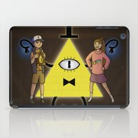 gravity falls iPad Cases featuring Gravity Falls by Dee Draws