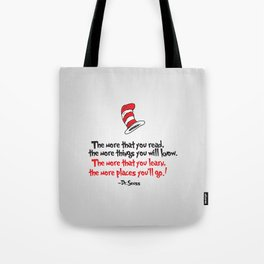 The Dr.'s Advice. Tote Bag