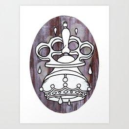 Coroner Coronet Art Print