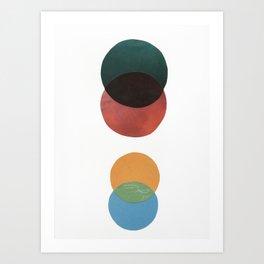 Color Study I Art Print