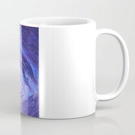 Abstract Blue Storm  by Robert S. Lee Coffee Mug