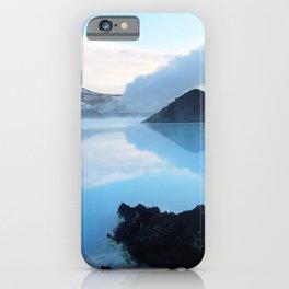 Blue Lagoon, Iceland iPhone Case