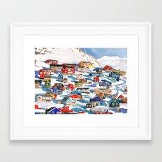 Qaqortoq Framed Art Print