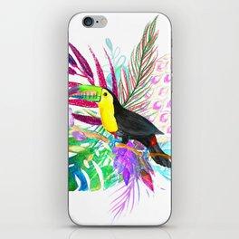 Tropical Toucan iPhone Skin