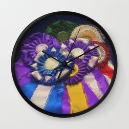 Rosettes Wall Clock