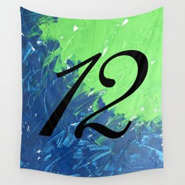 Blue & Green, 12, No. 1 Wall Tapestry