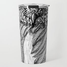 Fierce Owl Travel Mug
