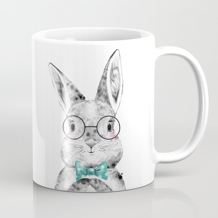 Bunny with Bowtie Coffee Mug