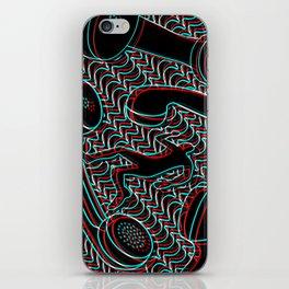Telefonophobia iPhone Skin