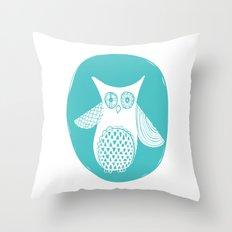 Hoot 2 Throw Pillow