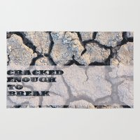 cracked Area & Throw Rugs featuring Cracked by F. C. Brooks