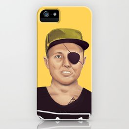 The Israeli Hipster leaders - Moshe Dayan iPhone Case