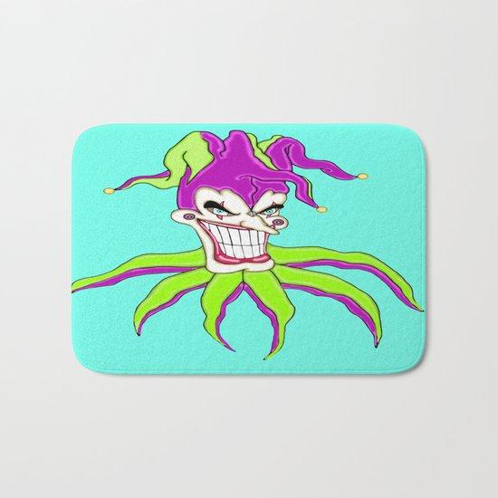 Jester Clown Bath Mat