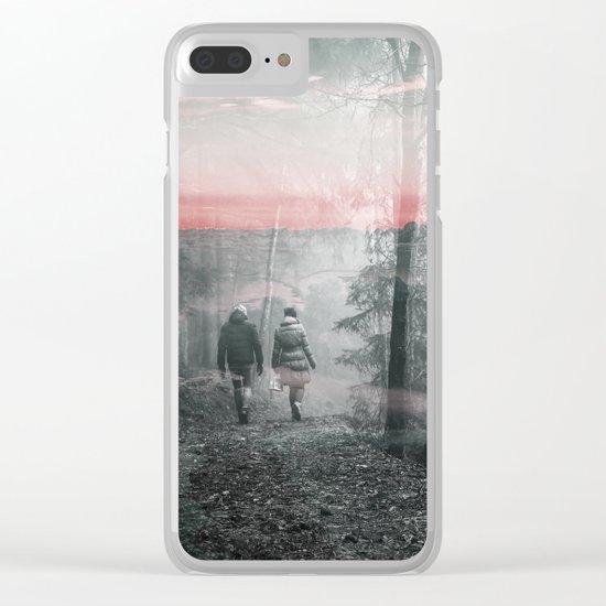 Unknown Fate Clear iPhone Case