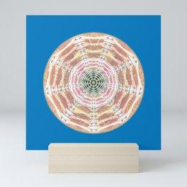 Hypnotized by my own Eyes Healing Mandala Mini Art Print