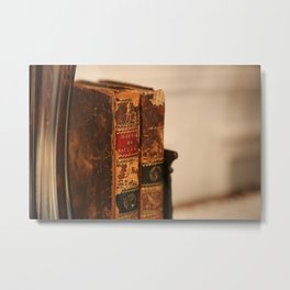 Antique books - ver 2 Metal Print