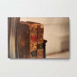 Antique books - ver 2 Metal Print