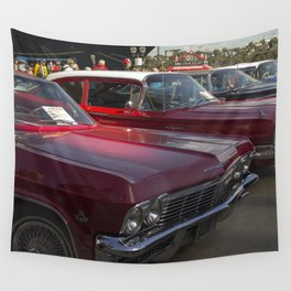 Old-timey Quebec City cars Wall Tapestry