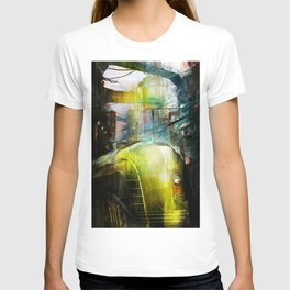 Last train to Mars T-shirt