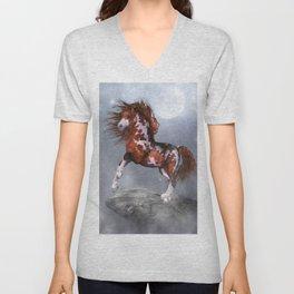 Native Horse Unisex V-Neck
