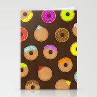 donuts Stationery Cards featuring Donuts by Reg Silva / Wedgienet.net