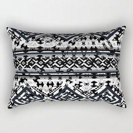 Educated Squares Rectangular Pillow