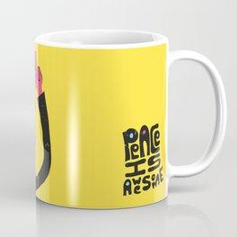 Peace Is Awesome Coffee Mug