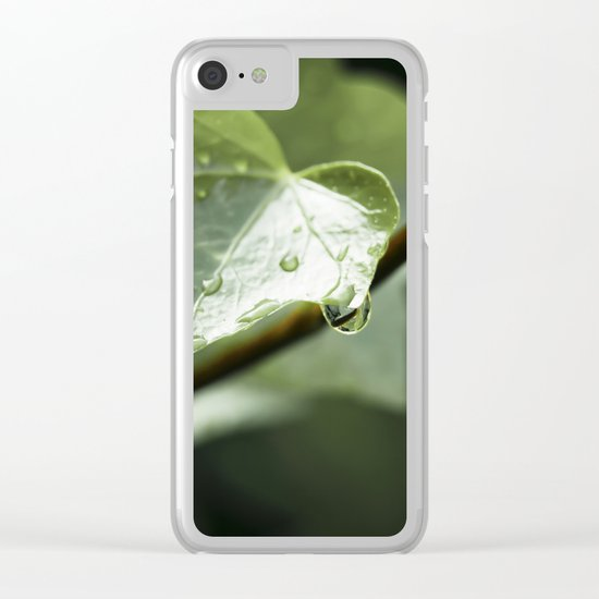 drops in ivy Clear iPhone Case