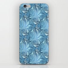 Blue Ocean Paisley  iPhone & iPod Skin