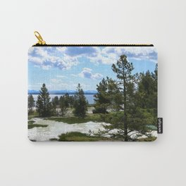 West Thumb Yellowstone Lake Carry-All Pouch