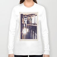starbucks Long Sleeve T-shirts featuring Starbucks by Art By JuJu