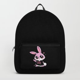 Punk Rock Bunny Backpack